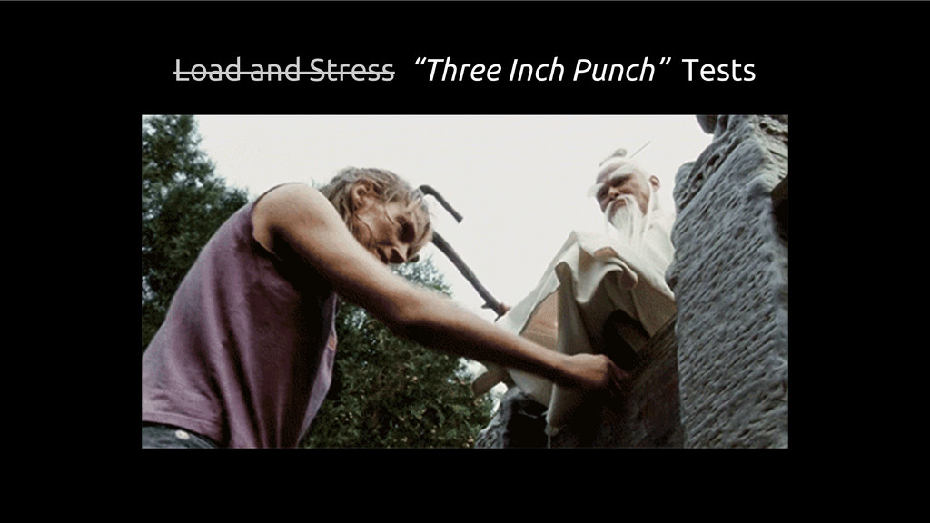 """Load and Stress """"Three Inch Punch"""" Tests"""