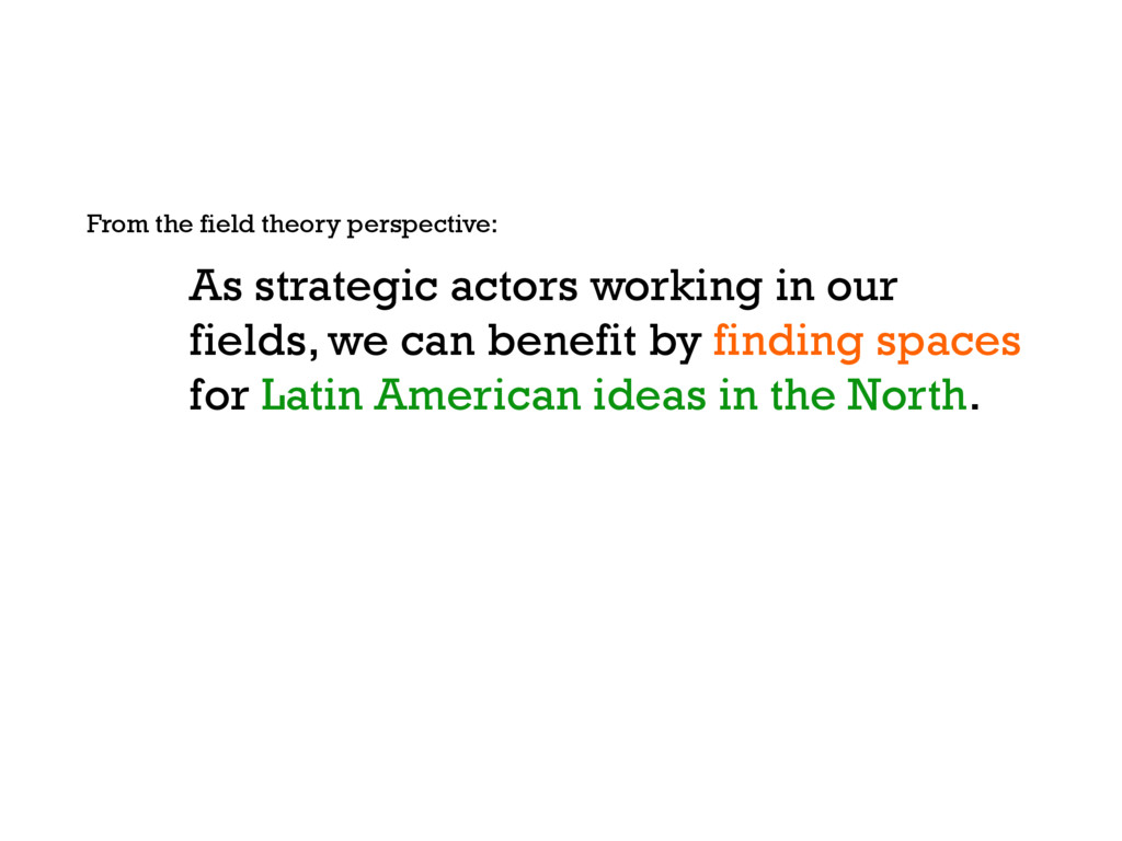 As strategic actors working in our fields, we c...