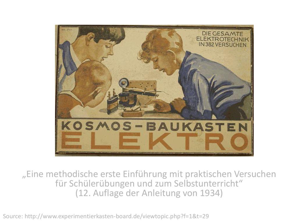 """""""Eine methodische erste Einführung mit praktisc..."""