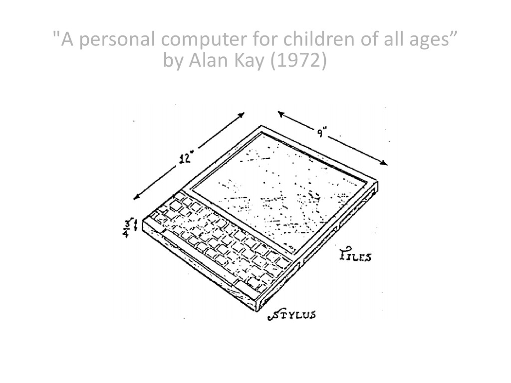 """A personal computer for children of all ages"" ..."