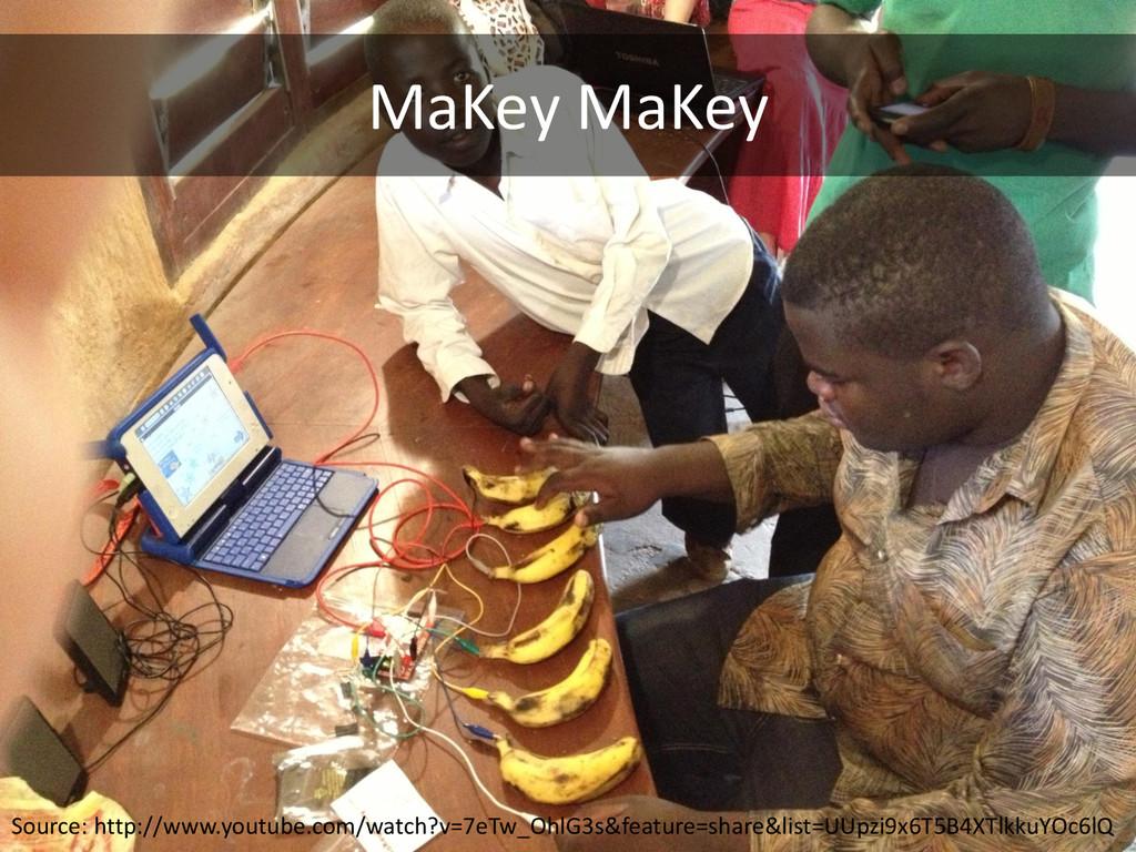 MaKey MaKey Source: http://www.youtube.com/watc...