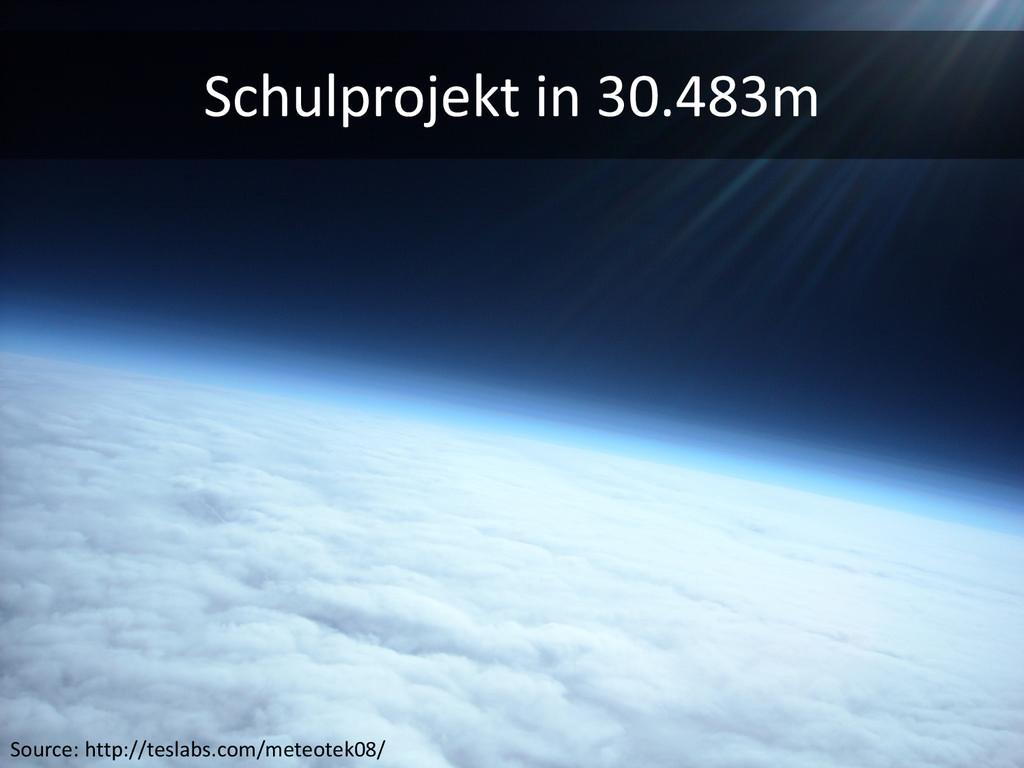 Source: http://teslabs.com/meteotek08/ Schulpro...