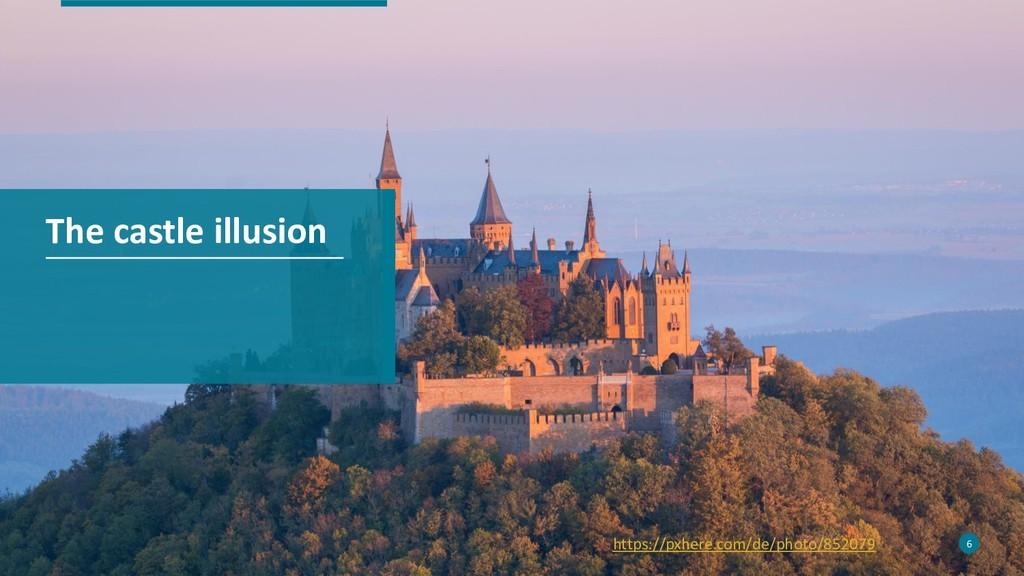 6 The castle illusion 6 https://pxhere.com/de/p...