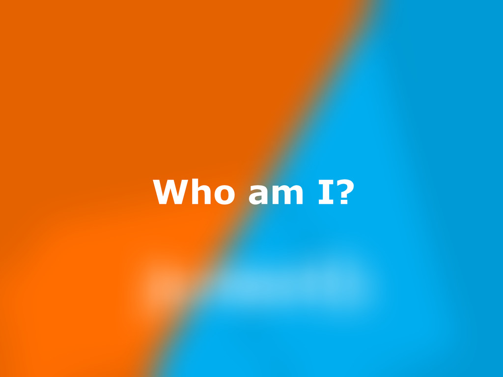 Nov 23, Who am I?