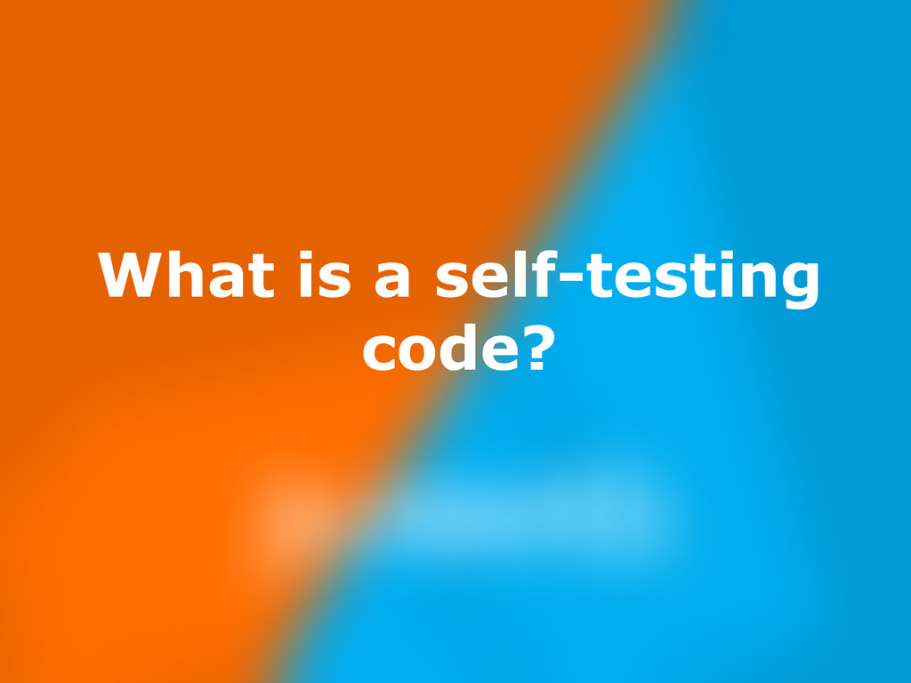 Nov 23, What is a self-testing code?
