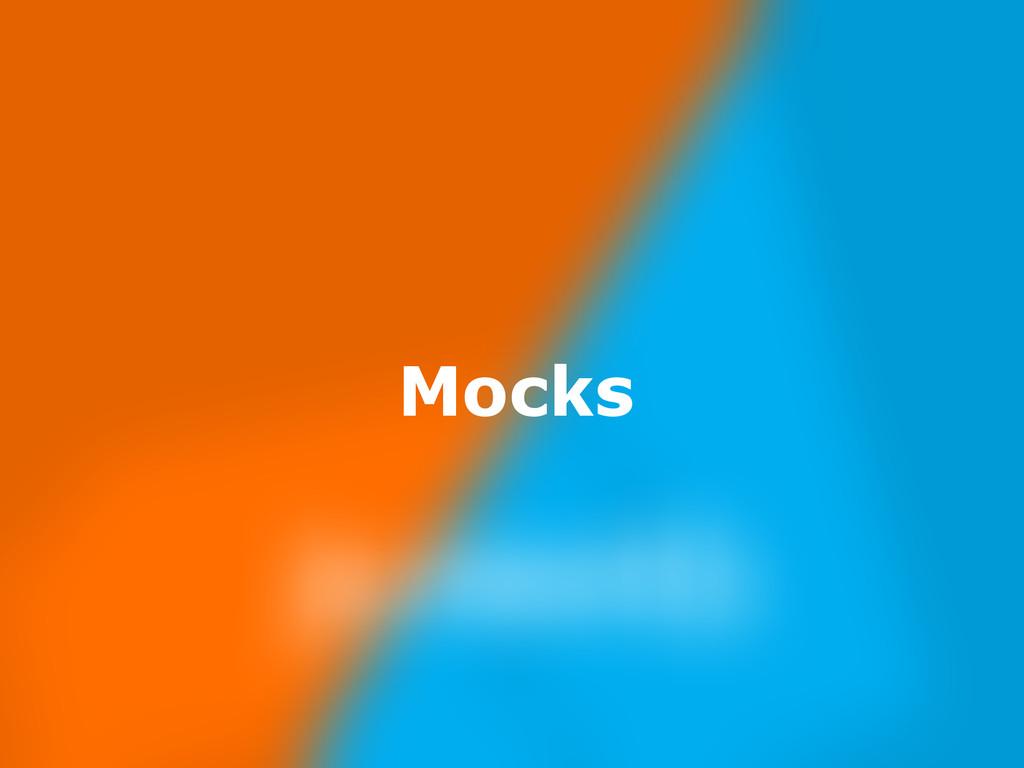 Nov 23, Mocks
