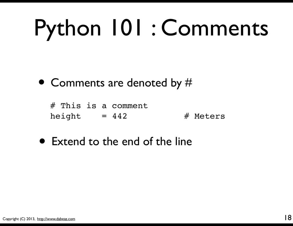 Copyright (C) 2013, http://www.dabeaz.com Pytho...