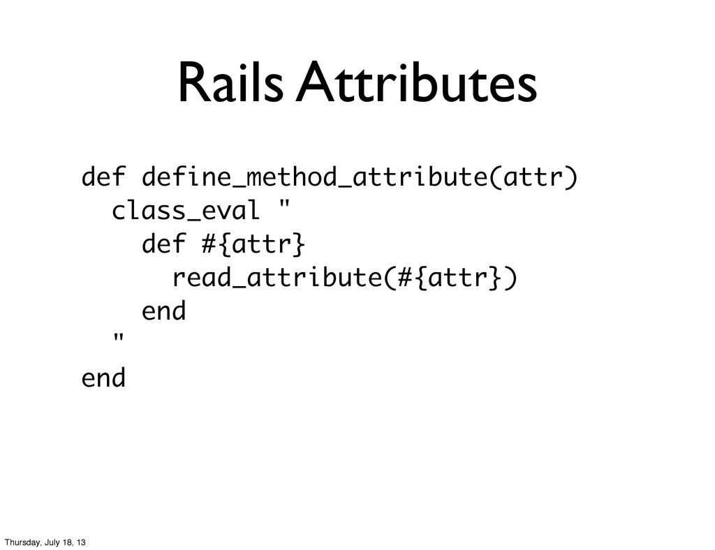 Rails Attributes def define_method_attribute(at...