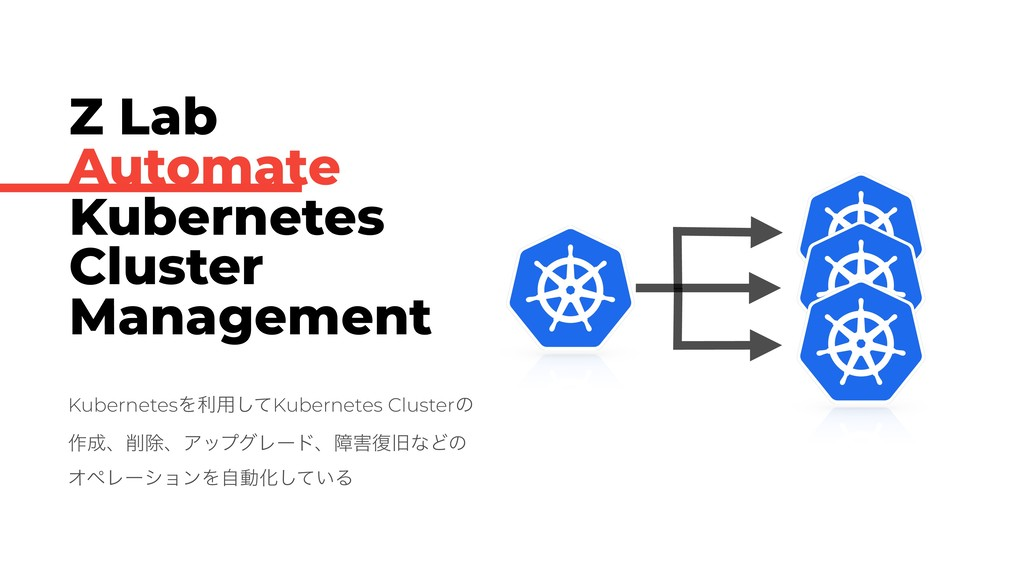 Z Lab Automate Kubernetes Cluster Management Ku...