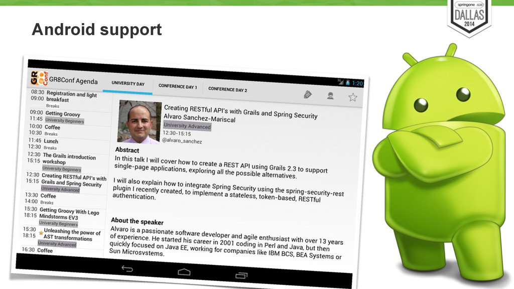 Android support 58