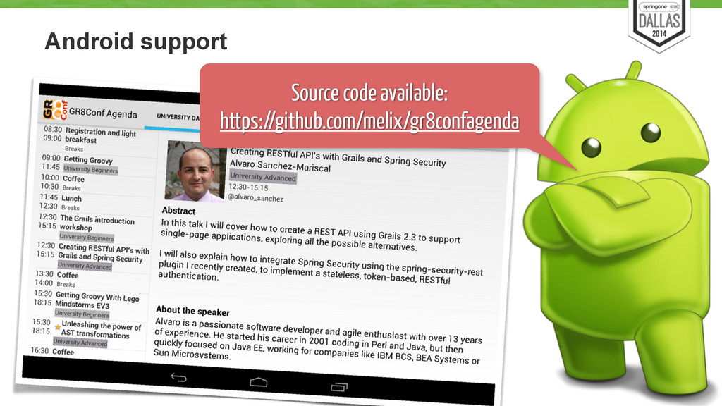 Android support 58 Source code available: https...