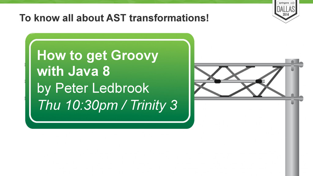 To know all about AST transformations! 71 How t...