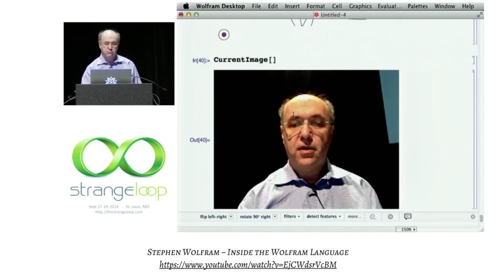 Stephen Wolfram – Inside the Wolfram Language h...