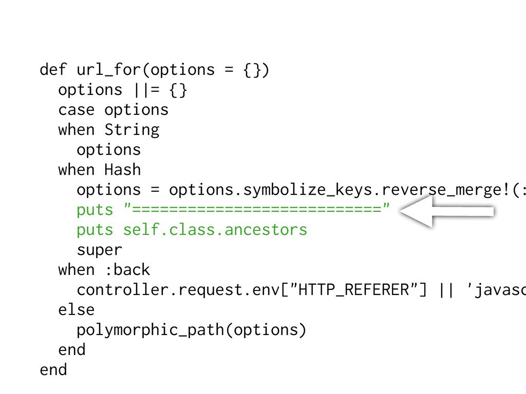 def url_for(options = {}) options   = {} case o...