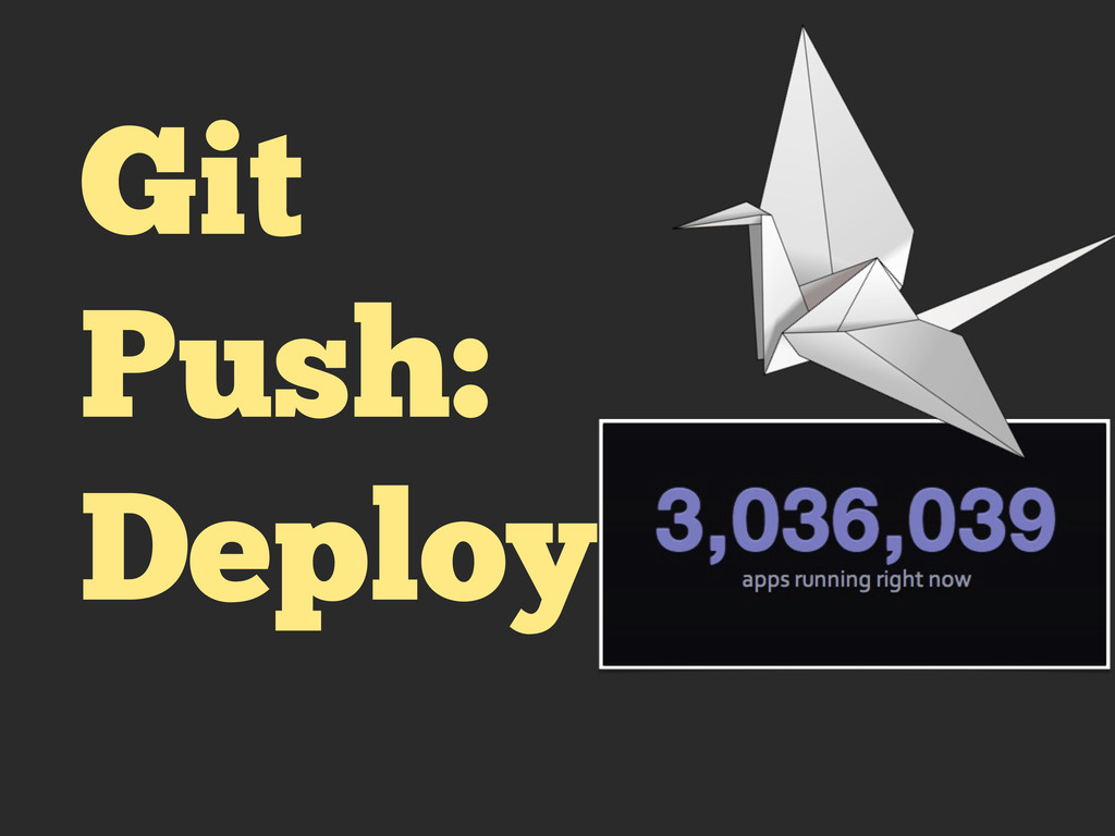 Git Push: Deploy