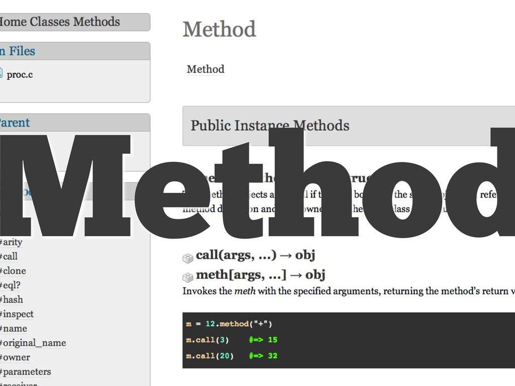 Method