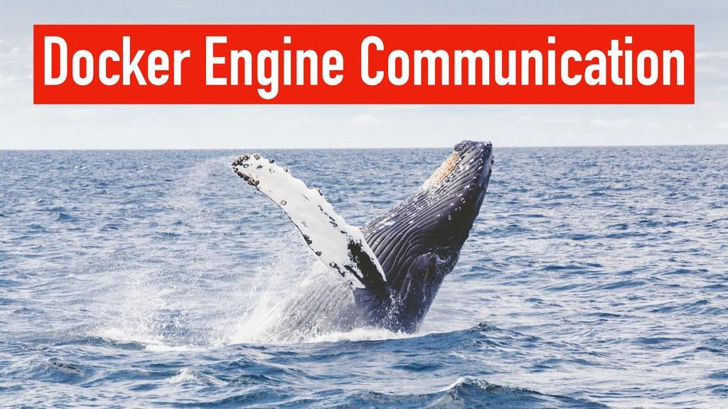 Docker Engine Communication