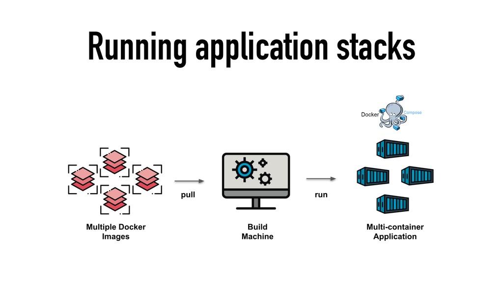 Running application stacks