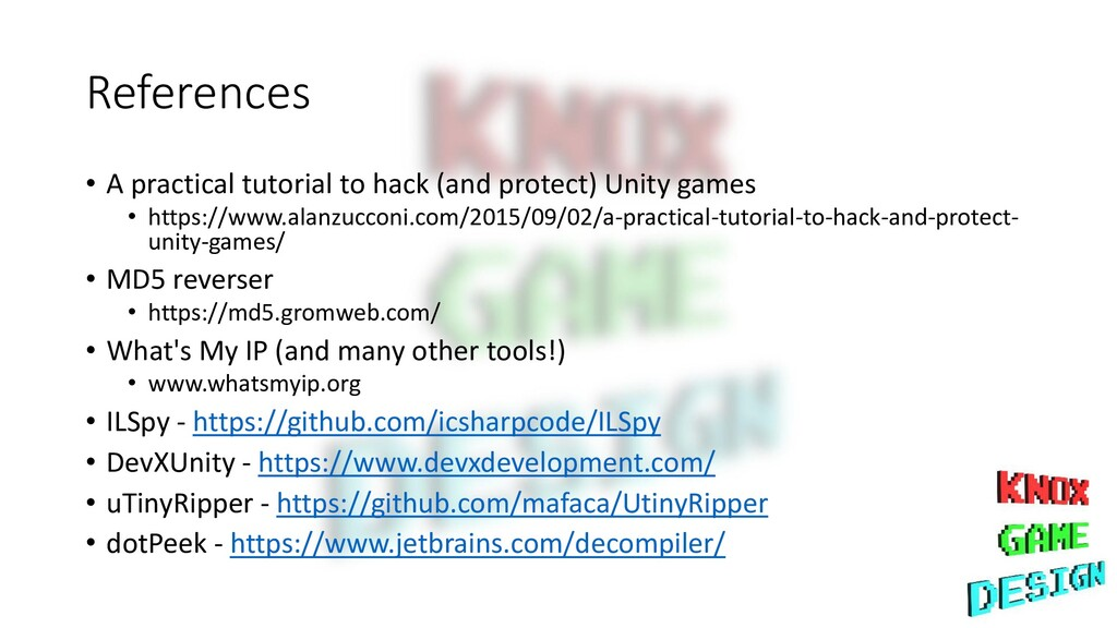 References • A practical tutorial to hack (and ...