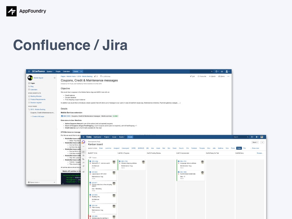 Confluence / Jira