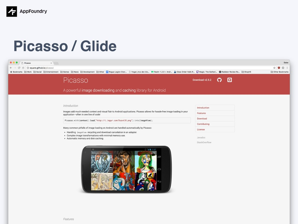 Picasso / Glide