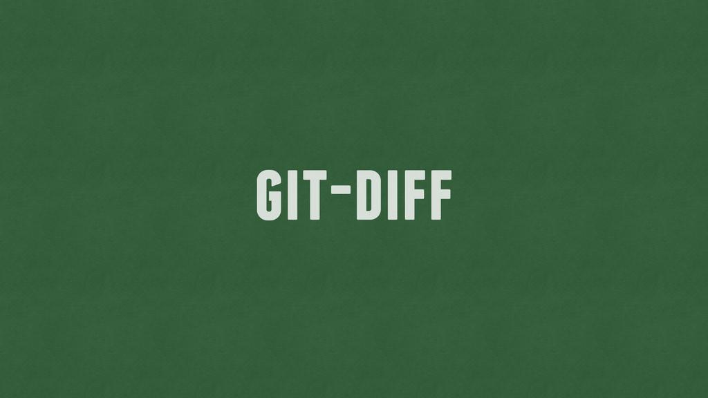 git-diff