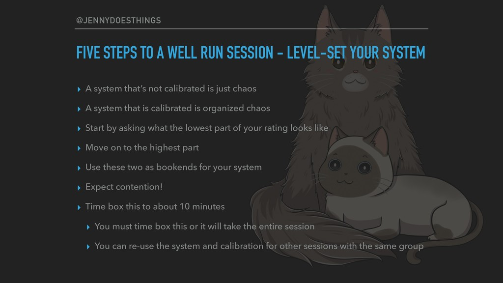 @JENNYDOESTHINGS FIVE STEPS TO A WELL RUN SESSI...