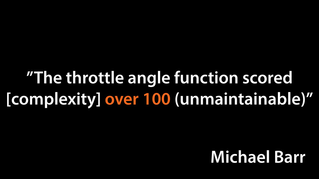 """The throttle angle function scored [complexity..."