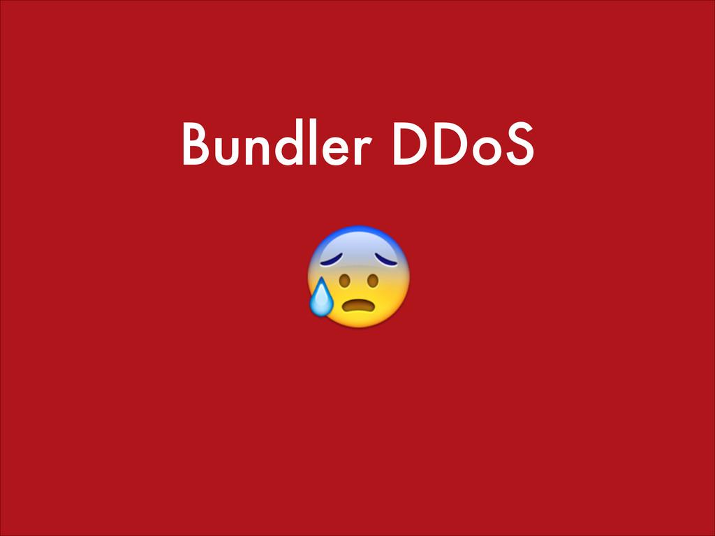 Bundler DDoS