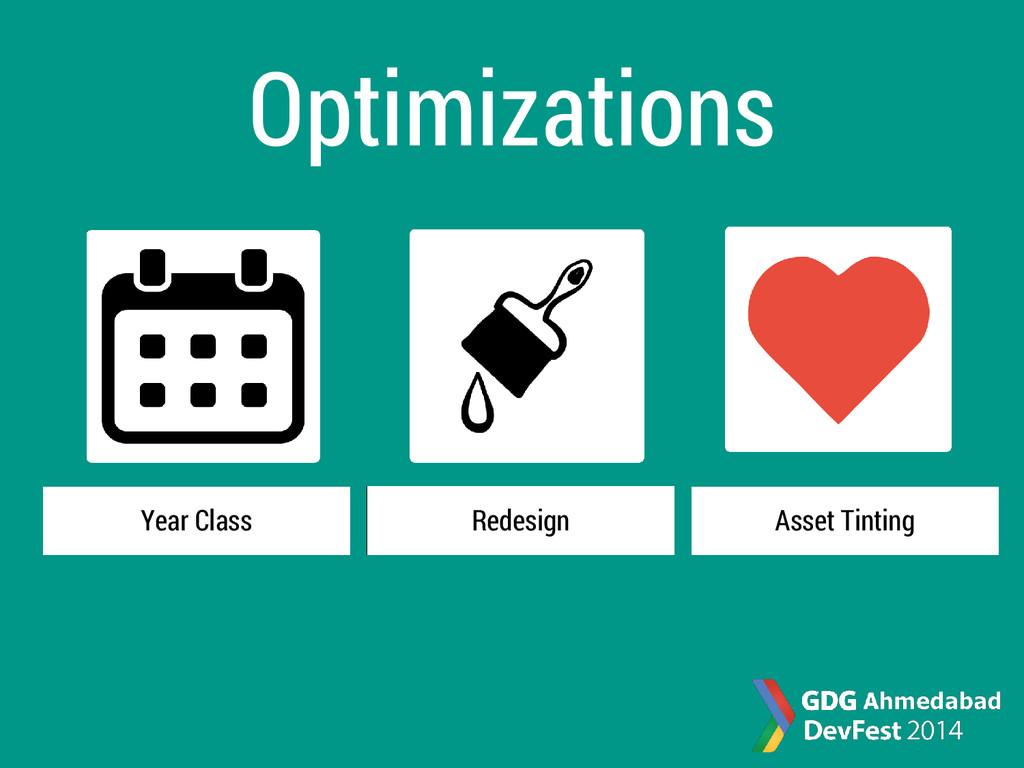 Optimizations Year Class Redesign Asset Tinting