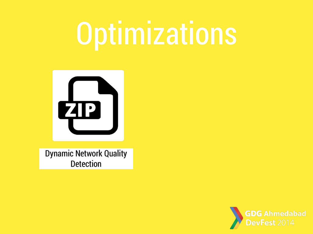 Optimizations Dynamic Network Quality Detection