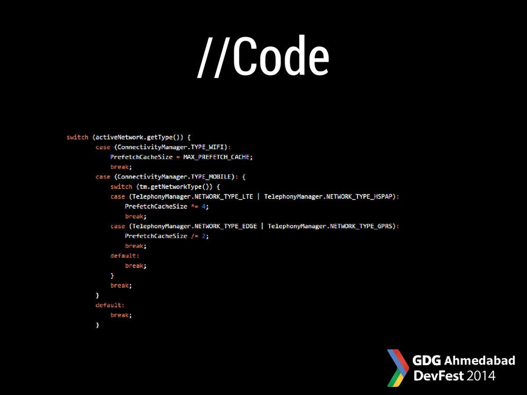 //Code