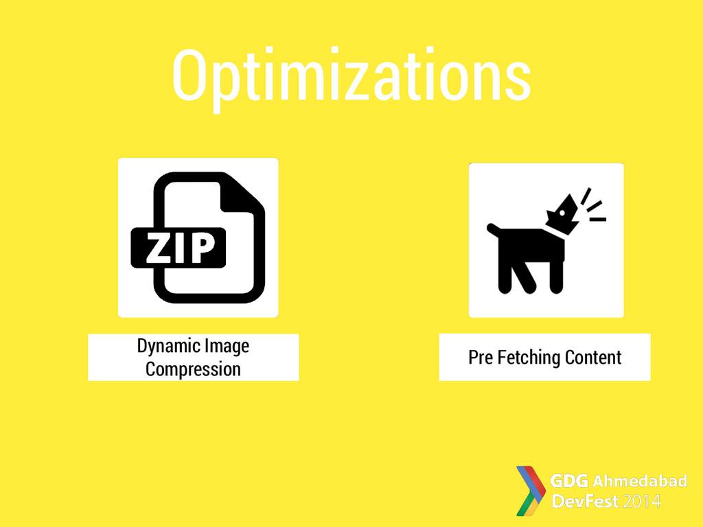 Optimizations Dynamic Image Compression Pre Fet...