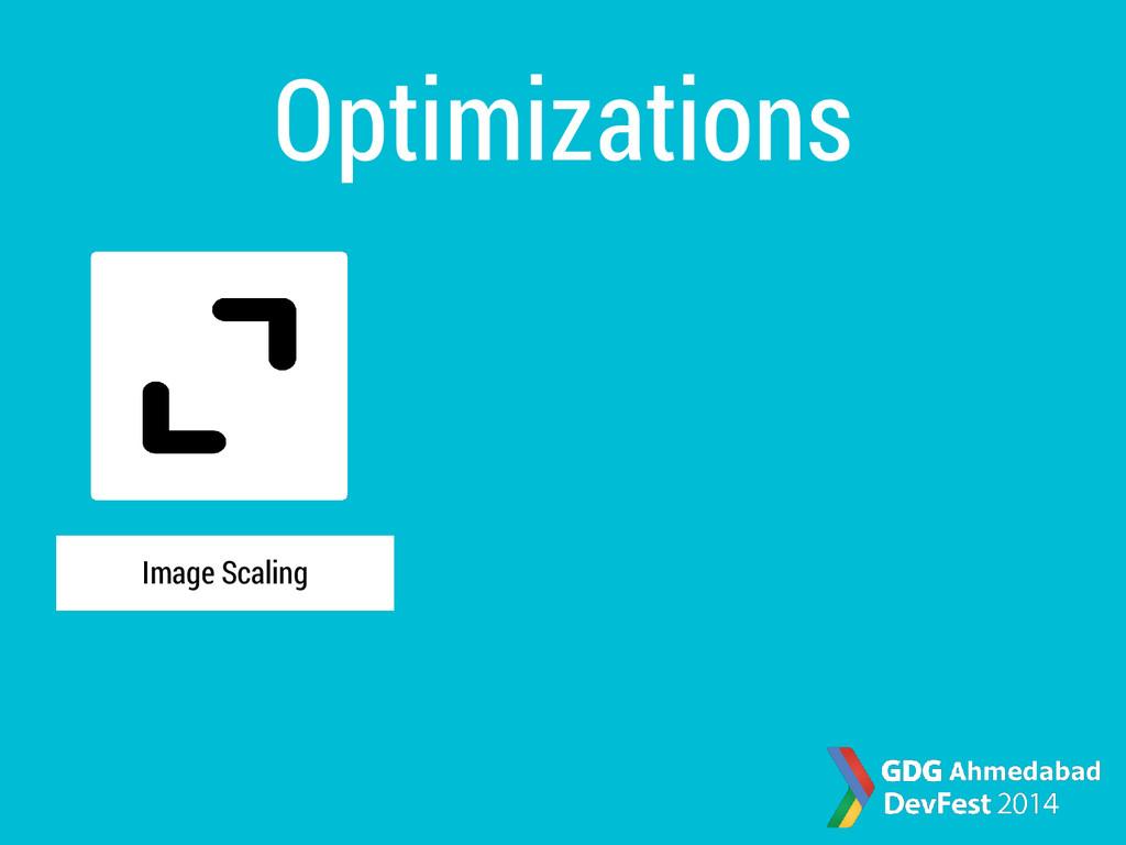 Optimizations Image Scaling