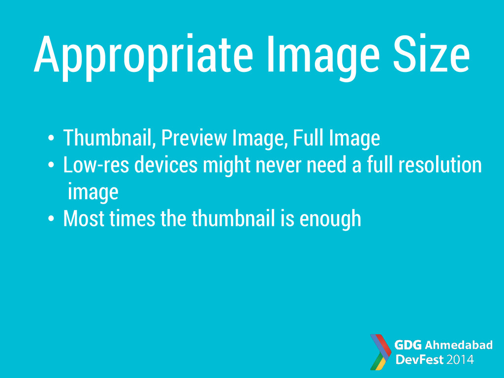 Appropriate Image Size • Thumbnail, Preview Ima...