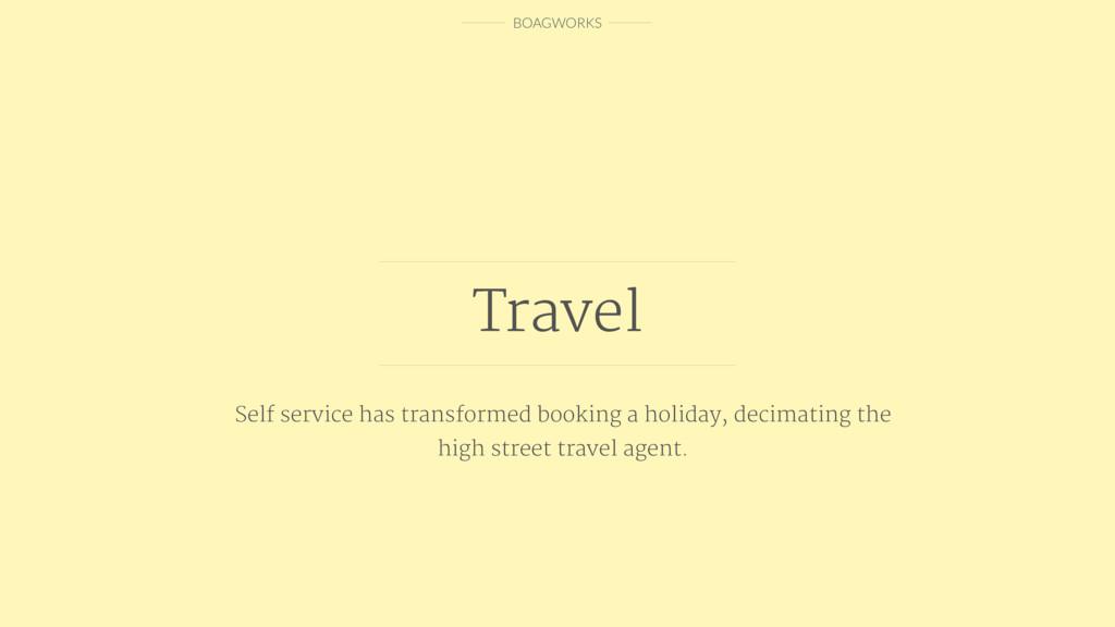 BOAGWORKS Travel Self service has transformed b...