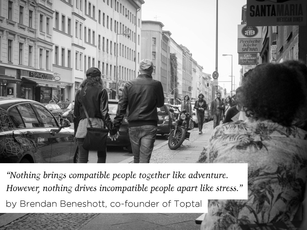 """Nothing brings compatible people together like..."