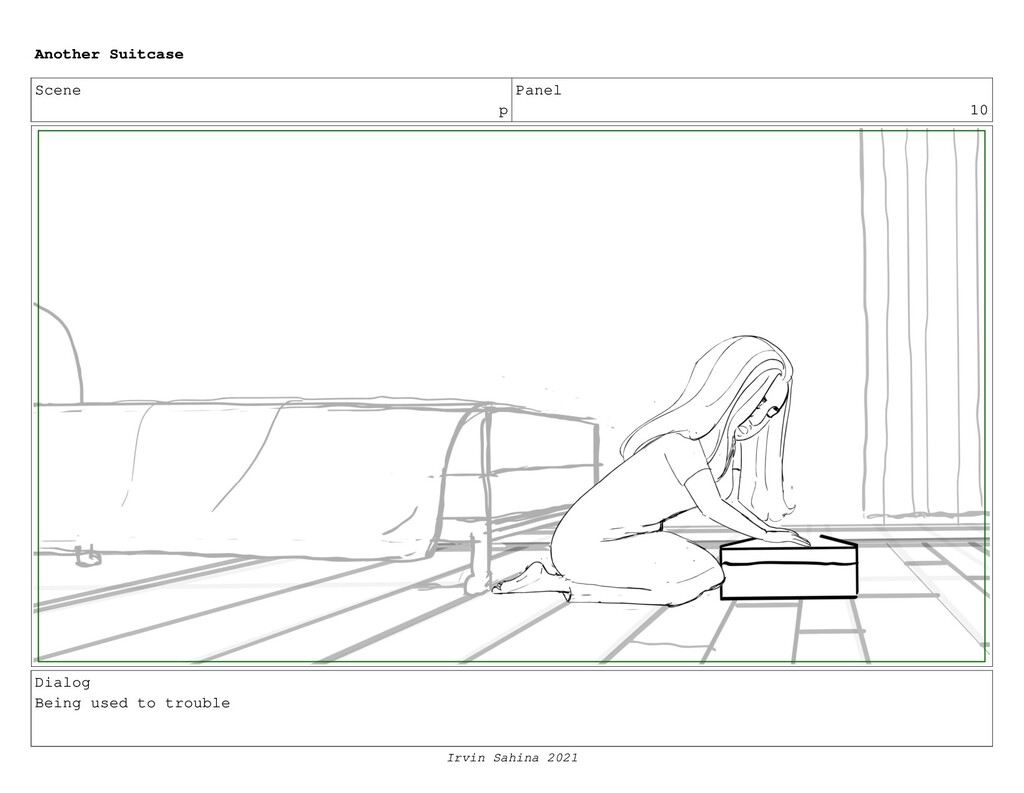 Scene p Panel 10 Dialog Being used to trouble A...