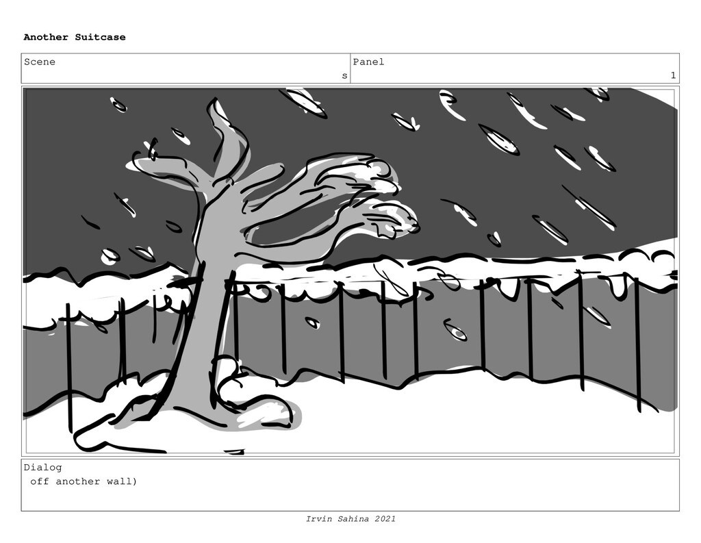 Scene s Panel 1 Dialog off another wall) Anothe...