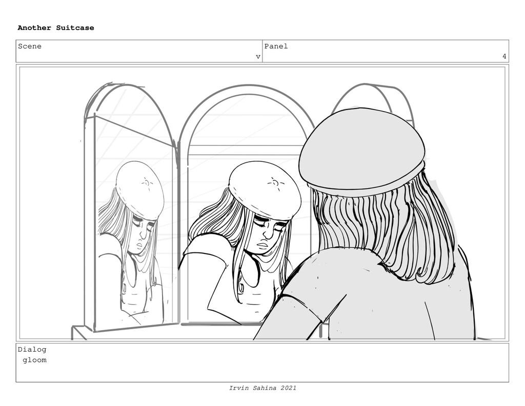 Scene v Panel 4 Dialog gloom Another Suitcase I...