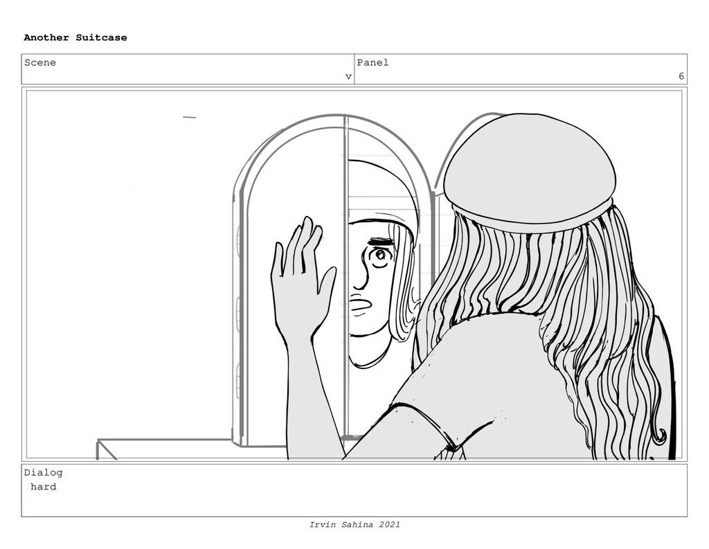 Scene v Panel 6 Dialog hard Another Suitcase Ir...
