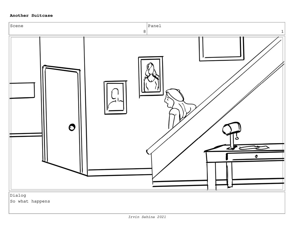 Scene 8 Panel 1 Dialog So what happens Another ...