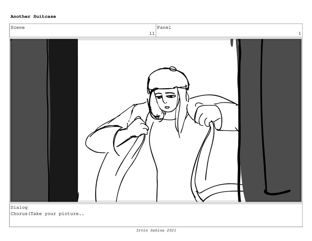 Scene 11 Panel 1 Dialog Chorus(Take your pictur...