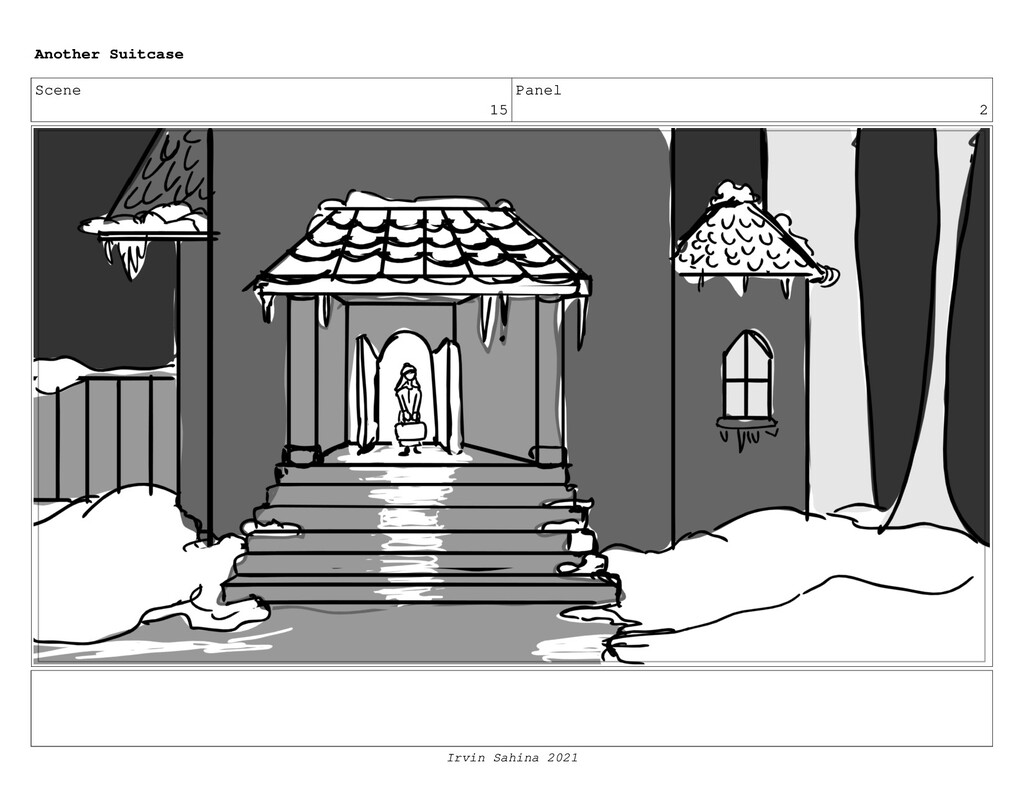 Scene 15 Panel 2 Another Suitcase Irvin Sahina ...