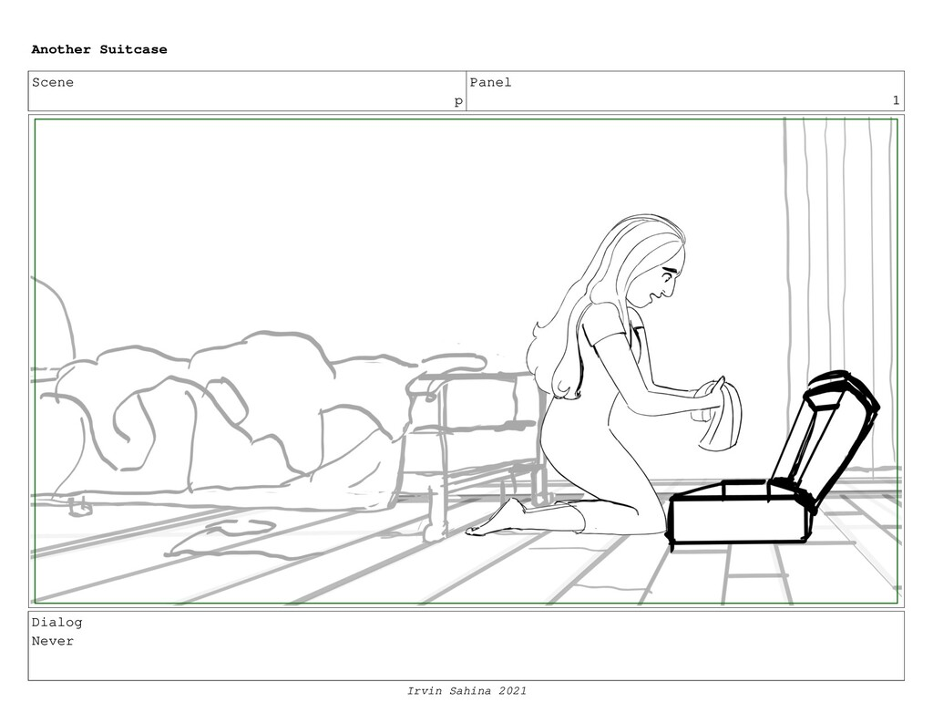 Scene p Panel 1 Dialog Never Another Suitcase I...