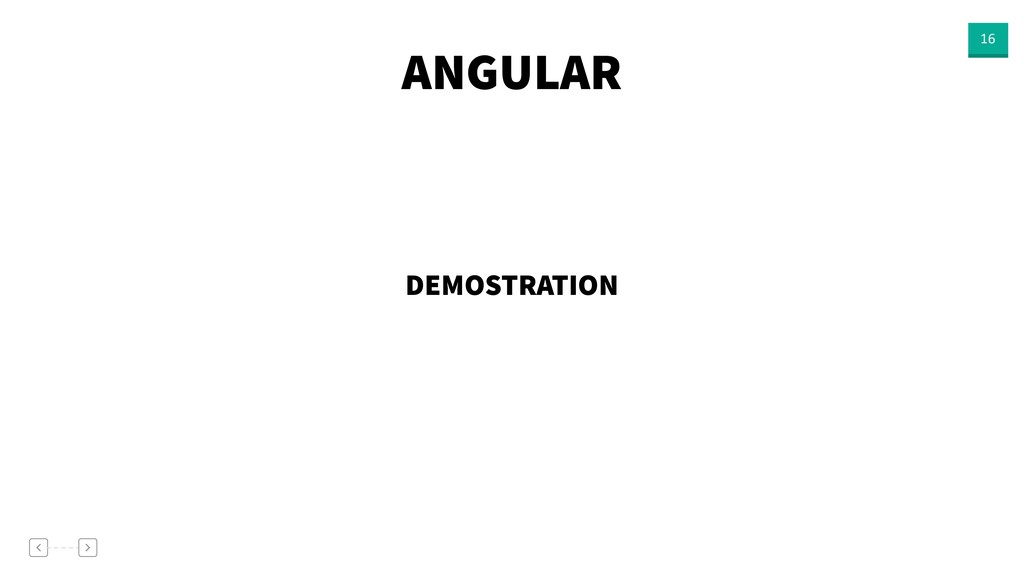 ANGULAR 16 DEMOSTRATION