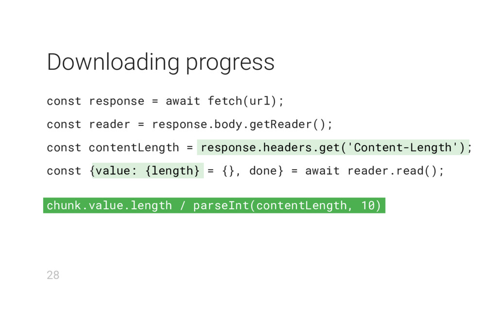 response.headers.get('Content-Length') value: {...