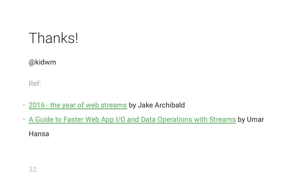 Thanks! @kidwm Ref: • 2016 - the year of web st...