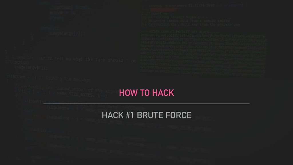 HOW TO HACK HACK #1 BRUTE FORCE
