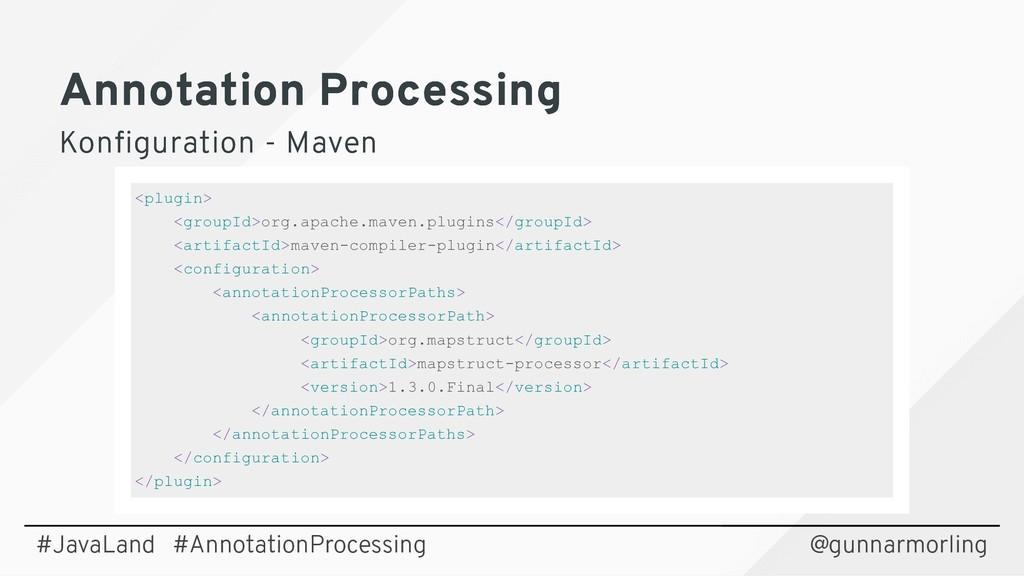 Annotation Processing Annotation Processing Kon...
